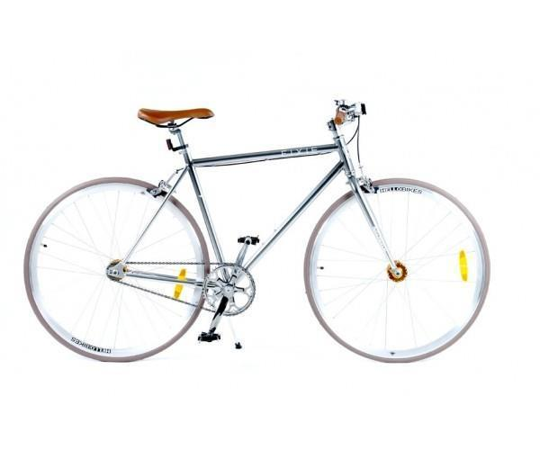 Hellobikes Flying Fixie Silver
